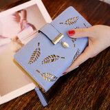 ซื้อ กระเป๋าสตางค์เกาหลีหญิงใหม่เพศหญิง สีฟ้า Unbranded Generic เป็นต้นฉบับ