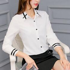 ซื้อ เกาหลีฤดูร้อนใหม่สบายๆเสื้อ สีขาว ออนไลน์ ฮ่องกง