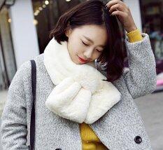 ขาย ผ้าพันคอ ผ้าคลุมไหล่ แฟชั่นหน้าหนาว เสื้อโค้ท เสื้อกันหนาว ผ้าพันคอขนสัตว์ สีขาว ผู้ค้าส่ง