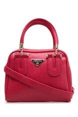 ราคา Amiya กระเป๋าถือ กระเป๋าสะพายข้าง กระเป๋าสะพายไหล่ รหัส 3021 สีแดง ถูก