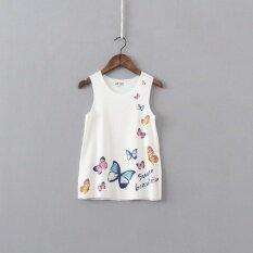 ซื้อ ทารกน้ำแข็งผีเสื้อเต็มกระโปรงชุดเดรส สีเบจสี ถูก ใน ฮ่องกง