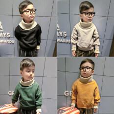 ขาย เสื้อกันหนาวคอสูงสำหรับเด็กผู้ชาย สีเหลือง สีเหลือง Other ผู้ค้าส่ง