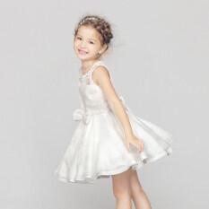 ขาย ชุดเดรสฤดูร้อนสาว ชุดเจ้าหญิงสีขาว ใน ฮ่องกง