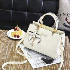 ซื้อ กระเป๋าถือสะพายข้างผู้หญิง เรียบหรู สไตล์เกาหลี ชานเฟยกระเป๋าถือสีเบจ ชานเฟยกระเป๋าถือสีเบจ ออนไลน์