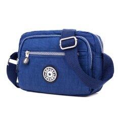 ราคา กระเป๋าไนล่อนไซส์มินิของผู้หญิงRainbow Pony สีน้ำเงินเข้ม สีน้ำเงินเข้ม ฮ่องกง