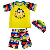 ราคา Ting Lang ชุดว่ายน้ำแยกชิ้น สำหรับเด็ก ลิงปากสีเหลือง ลิงปากสีเหลือง ใหม่ล่าสุด