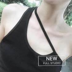 เสื้อหญิงเสื้อกั๊กสวมใส่ด้านนอก สีดำ ใน ฮ่องกง