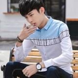 ขาย นิยมฤดูใบไม้ผลิลำลองแขนยาวเสื้อ แสงสีฟ้า ถูก ใน ฮ่องกง