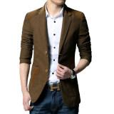 ซื้อ เสื้อสูทผู้ชายแบบสำสอง ขนาดใหญ่ สไตล์เกาหลี ลึกกาแฟ ลึกกาแฟ