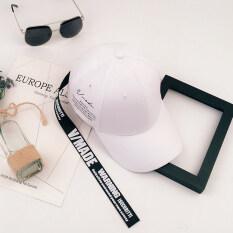 ขาย ซื้อ ออนไลน์ คู่เกาหลีชายสายยาวหมวกหมวก รุ่นอัพเกรดวงความยาว สีขาว เข็มขัดหนังสีดำ
