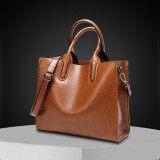 ขาย ซื้อ ออนไลน์ สุภาพสตรีสีทึบแท้กระเป๋าถือกระเป๋าสะพายไหล่แพคเกจในแนวทแยง สีน้ำตาลที่จะส่ง กระเป๋ากระเป๋าสตางค์สินค้าฮิตดีลฮอต แพคเกจบัตร ประกันการจัดส่งสินค้า