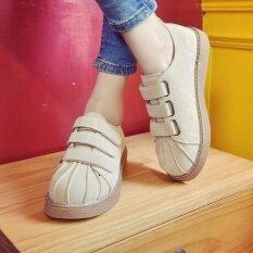 ขาย รองเท้าสเก็ตบอร์ผู้หญิง รองเท้าลำลอง หัวเชลล์ สีกากี สีกากี Other เป็นต้นฉบับ