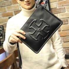 ซื้อ กระเป๋าถือสีดำผู้ชาย ยี่ห้อXiao P Bag สีดำ สีดำ ออนไลน์ ถูก