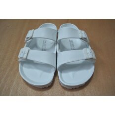 ซื้อ รองเท้าแตะวินเทจ สีขาว ถูก