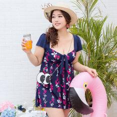 ทบทวน เซ็กซี่นางสาวสยามนักมวยกางเกงไซส์พิเศษไซส์ใหญ่พิเศษชุดว่ายน้ำ ดอกไม้สีฟ้าเข้ม Unbranded Generic