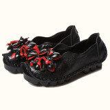 ขาย ลมชาติฤดูใบไม้ผลิและฤดูใบไม้ร่วงวรรคเดิมทำด้วยมือรองเท้า สีดำ Unbranded Generic ใน ฮ่องกง