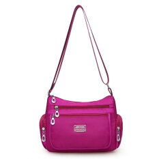 ราคา กระเป๋าผู้หญิงสะพายแฟชั่นสะพายไหล่ทำจากผ้าแคนวาส พริตตี้สีม่วง พริตตี้สีม่วง Other ฮ่องกง