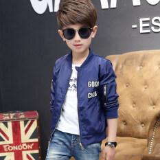 ใหม่เด็กเสื้อกันหนาวเด็กชายเสื้อกันหนาว น้ำเงิน ใน ฮ่องกง