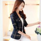 ราคา เสื้อสูทสั้นเข้ารูป ผู้หญิง สไตล์เกาหลี แลงเกอร์ แลงเกอร์ Unbranded Generic