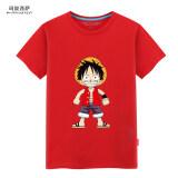 ขาย เสื้อยืดลำลอง แฟชั่น ผู้ชาย Manuxisa ลูฟี่ สีแดง ลูฟี่ สีแดง เป็นต้นฉบับ