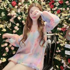 ซื้อ หลวมหวานชุดฤดูใบไม้ผลิแขนยาวชุด สี ถูก ใน ฮ่องกง