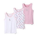 ขาย ผ้าฝ้ายเด็กสวมใส่ภายในแขนกุดเสื้อกั๊กสาวเสื้อกั๊ก สีชมพูแกะสามชิ้นติดตั้ง Unbranded Generic ออนไลน์