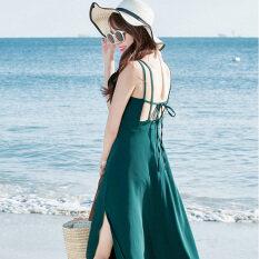 ราคา แขนจือเชียย้อนยุคอารมณ์เชือกแขวนคอแต่งตัวชุด สีเขียวเข้ม ราคาถูกที่สุด