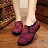 ขาย รองเท้าฤดูใบไม้ผลิใหม่ยายรองเท้าผ้าแม่ สีแดง เป็นต้นฉบับ