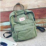 ราคา กระเป๋าเป้สะพายหลังวิทยาลัยลมกระเป๋าถือถุงผ้าใบหญิงเดินทาง สีเขียว Unbranded Generic ใหม่