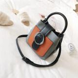 ขาย กระเป๋าเกาหลีหญิงถุง Messenger มินิแบบพกพา สีเทา ถูก ใน ฮ่องกง