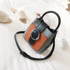 ขาย ซื้อ กระเป๋าเกาหลีหญิงถุง Messenger มินิแบบพกพา สีเทา ใน ฮ่องกง