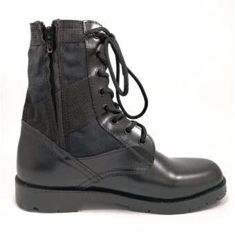 รองเท้าทหาร รองเท้าจังเกิ้ล รองเท้าคอมแบท รองเท้า รด  แบบ ซิปข้าง panda commander (วัดขนาดรองเท้าตามรายละเอียดสินค้า)