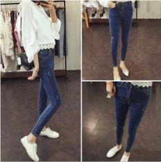 ราคา ฮาราจูกุหญิงลมนักเรียนแน่นดินสอกางเกงกางเกงยีนส์กางเกง แมวมัสสุ ออนไลน์