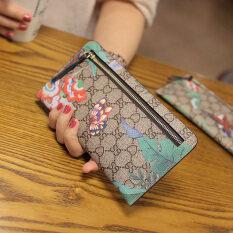 ราคา กระเป๋าเงินใบยาว ผู้หญิงSeefollow สีเบจพิมพ์ผีเสื้อ สีเบจพิมพ์ผีเสื้อ ราคาถูกที่สุด