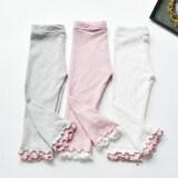 ราคา กางเกงผ้าฝ้ายกางเกงเด็กสวมใส่ทารกที่ห้า สีชมพู กางเกง ถูก