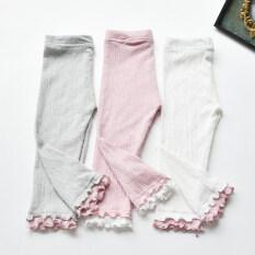 กางเกงผ้าฝ้ายกางเกงเด็กสวมใส่ทารกที่ห้า สีชมพู กางเกง เป็นต้นฉบับ
