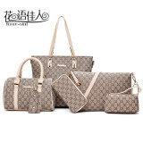 ราคา กระเป๋าผู้หญิงหลายแบบในชุด สีขาว สีขาว เป็นต้นฉบับ