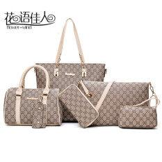 ราคา กระเป๋าผู้หญิงหลายแบบในชุด สีขาว สีขาว ใหม่