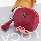 ส่วนลด สินค้า กระเป๋าสตางค์ ผู้หญิง Kqueenstar สีแดง สีแดง