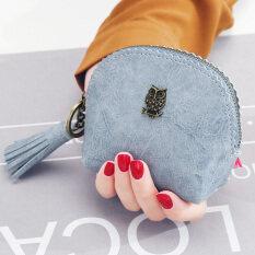 ขาย กระเป๋าสตางค์ ผู้หญิง Kqueenstar สีฟ้า สีฟ้า ฮ่องกง ถูก