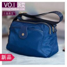 ความคิดเห็น Voi กระเป๋าสะพายไหล่กันน้ำ ผู้หญิงสูงอายุ สีฟ้า สีฟ้า