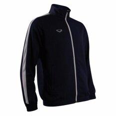 ราคา แกรนด์สปอร์ตเสื้อวอร์ม สีกรมขาว Grand Sport