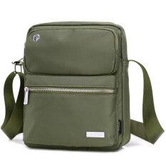 ส่วนลด กระเป๋าเกาหลีผู้ชายกระเป๋าผู้ชาย สีเขียว