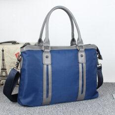ถุงสบายๆผู้ชายกระเป๋าไนลอนกระเป๋าเอกสารผู้ชาย สีฟ้า ใน ฮ่องกง