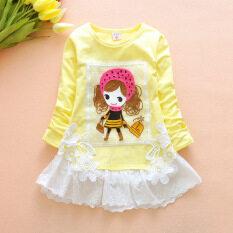 ขาย ทารกเด็กแขนยาวเสื้อยืด สีเหลืองตุ๊กตาแขนยาวเสื้อยืด ออนไลน์ ใน ฮ่องกง