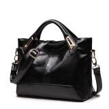 โปรโมชั่น ถุงใหญ่แฟชั่นผู้หญิงกระเป๋าแพคเกจใหม่ สีดำ Unbranded Generic
