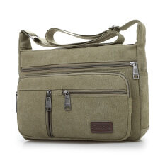 ขาย สบายๆความจุขนาดใหญ่ถุงผ้าใบแพ็คเก็ต กองทัพสีเขียว Other ออนไลน์