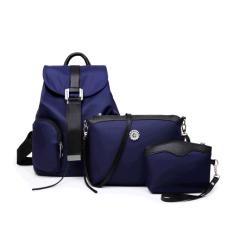 ขาย ซื้อ ใหม่กันน้ำกระเป๋าเป้สะพายหลังกระเป๋า สีฟ้า
