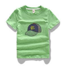 ขาย เสื้อผ้าฝ้ายไม้ไผ่เสื้อยืดฤดูร้อนเด็กแขนสั้น ผลไม้สีเขียว ออนไลน์ ใน ฮ่องกง