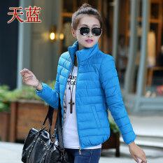ขาย ฤดูหนาวยืนปกเสื้อผ้าฝ้ายขนาดเล็ก ท้องฟ้าสีฟ้า ออนไลน์ ฮ่องกง